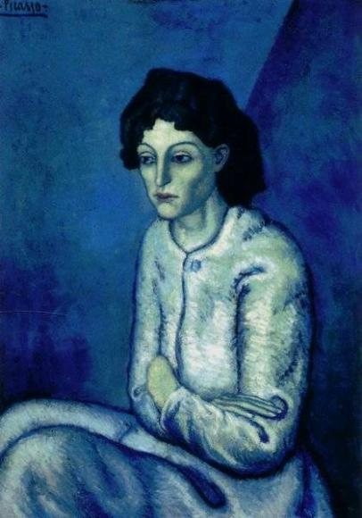 Пабло Пикассо «Женщина со скрещенными руками»