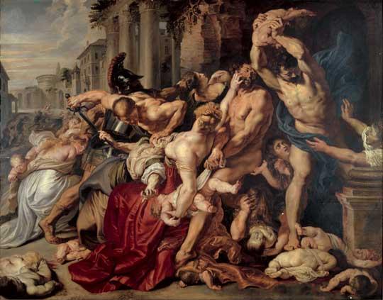 Питер Паул Рубенс «Избиение младенцев»