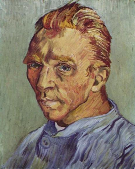 Автопортрет Винсента Ван Гога «Без бороды»