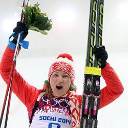 дарья домрачева взяла 3 золотых медали