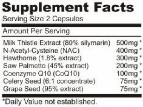 IronMagLabs ADVANCED CYCLE SUPPORT Rx™ supplement facts