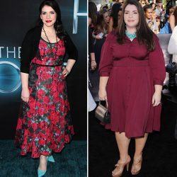 диета звёзд до и после