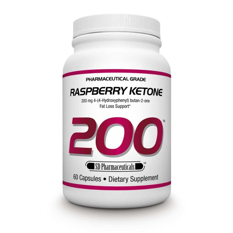 SD PHARMACEUTICALS RASPBERRY KETONES 200