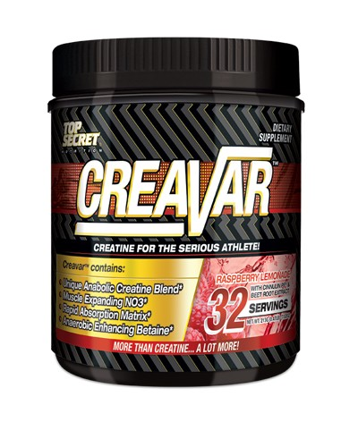Top Secret Nutrition Creavar Creatine Plus Jar