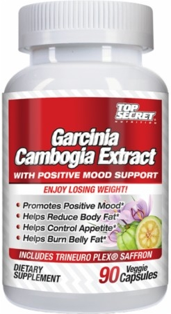 Top Secret Nutrition Garcinia Cambogia Extract With Positive Mood
