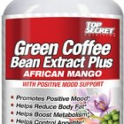 Top Secret Nutrition Green Coffee Bean Extract plus African Mango