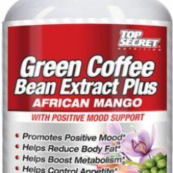 Top Secret Nutrition Green Coffee Bean Extract plus African Mango