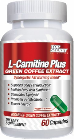 Top Secret Nutrition L-Carnitine Plus Green Coffee