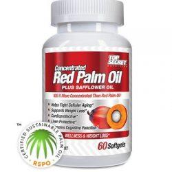 Top Secret Nutrition Red Palm Oil Plus Safflower Oil