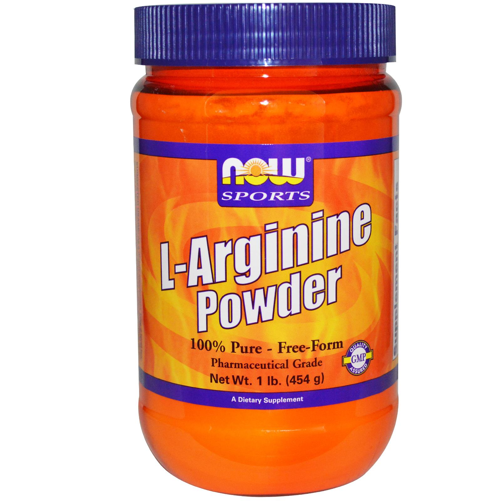 NOW Sport Nutrition L-Arginine Powder - описание и состав