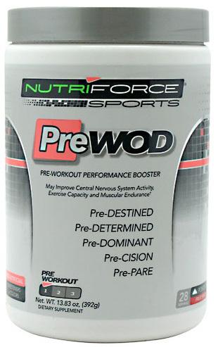 Nutri Force PreWOD