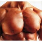 Как накачать грудь гантелями