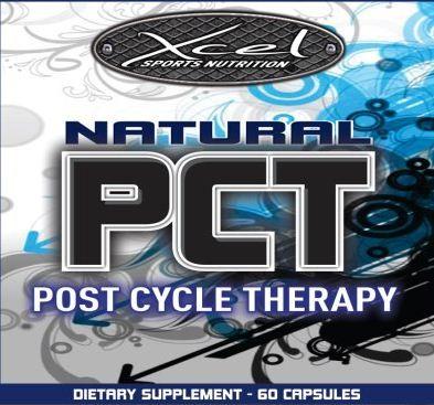 Xcel Sport Nutrition - Natural PCT - Label
