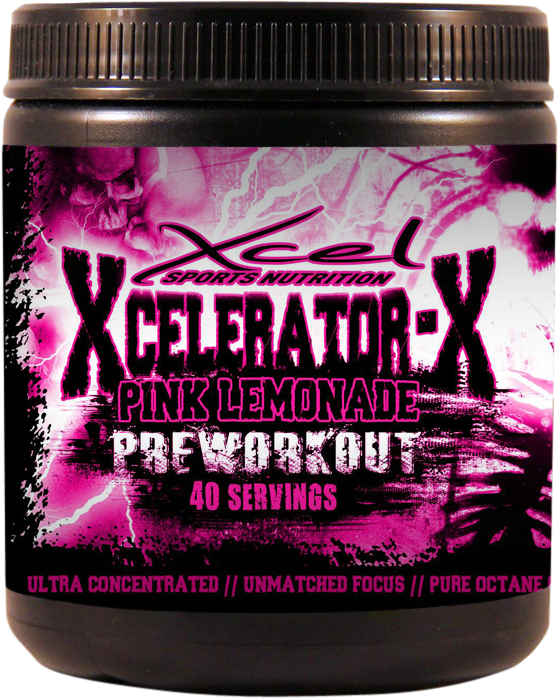 Xcel Sports Nutrition's - Xcelerator X Pre-Workout