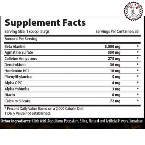 Xcel Sports Nutrition Crackhead состав