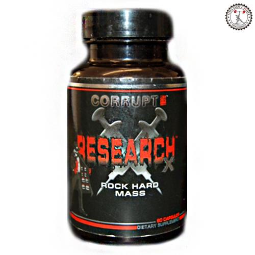 Corrupt Research X