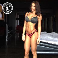 Фитнес-модель Бьянка Габриэла