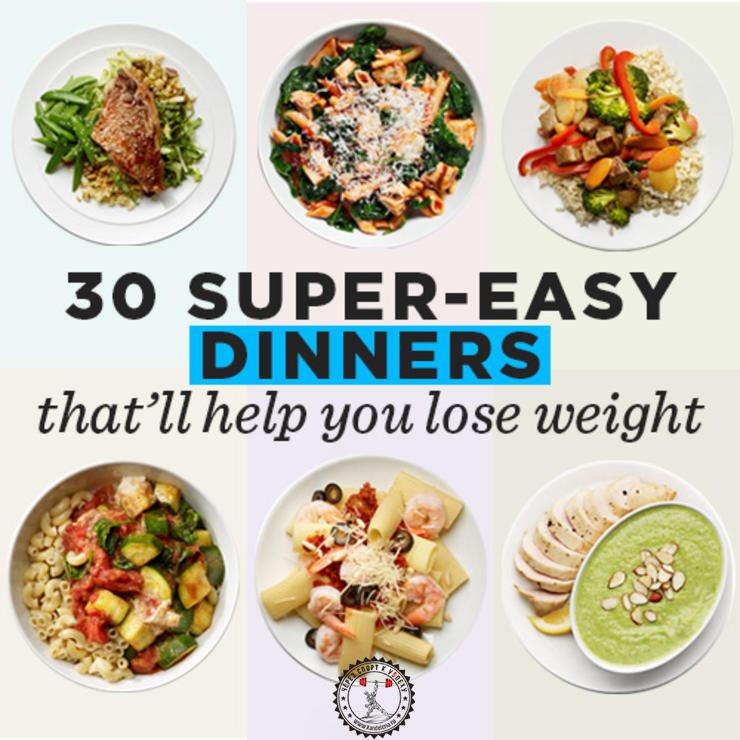 Диетические рецепты для похудения с фото