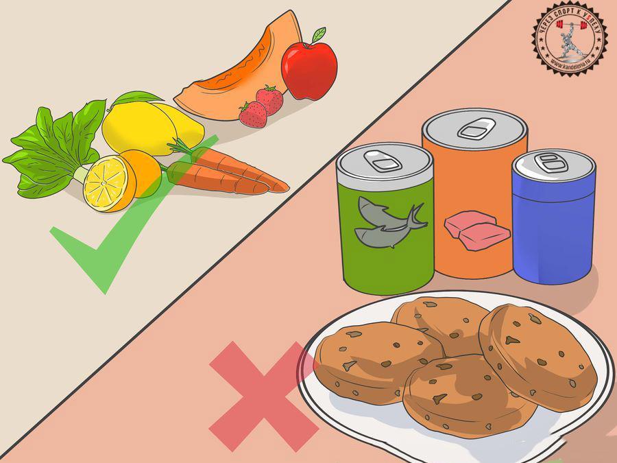 Выбирайте только правильные продукты