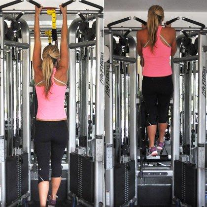 убрать жир рук спины упражнения