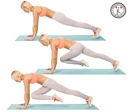 упражнение для похудения живота и боков