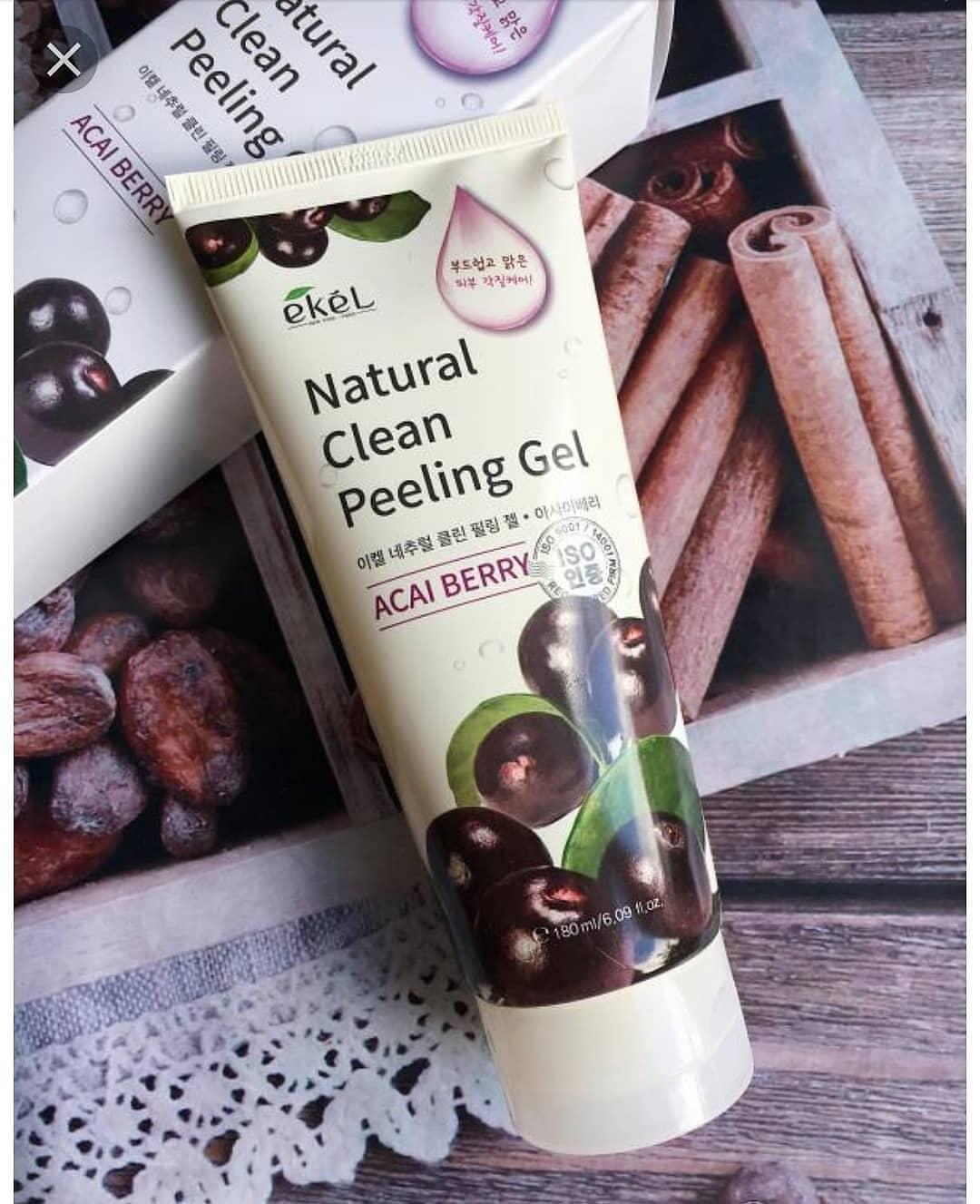 Ekel Natural Clean Peeling Gel Acal Berry
